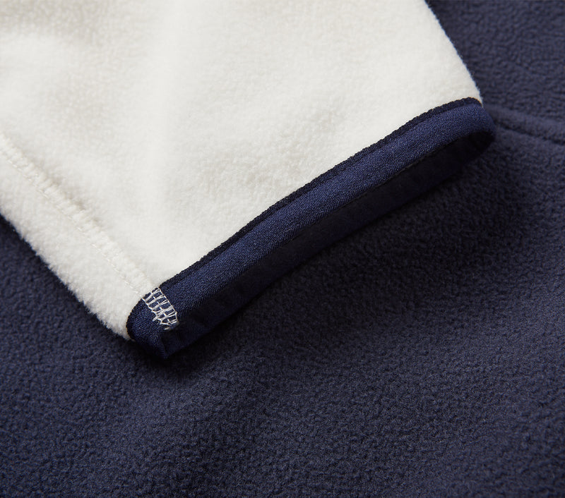 Tottenham Panel Fleece - Midnight/White