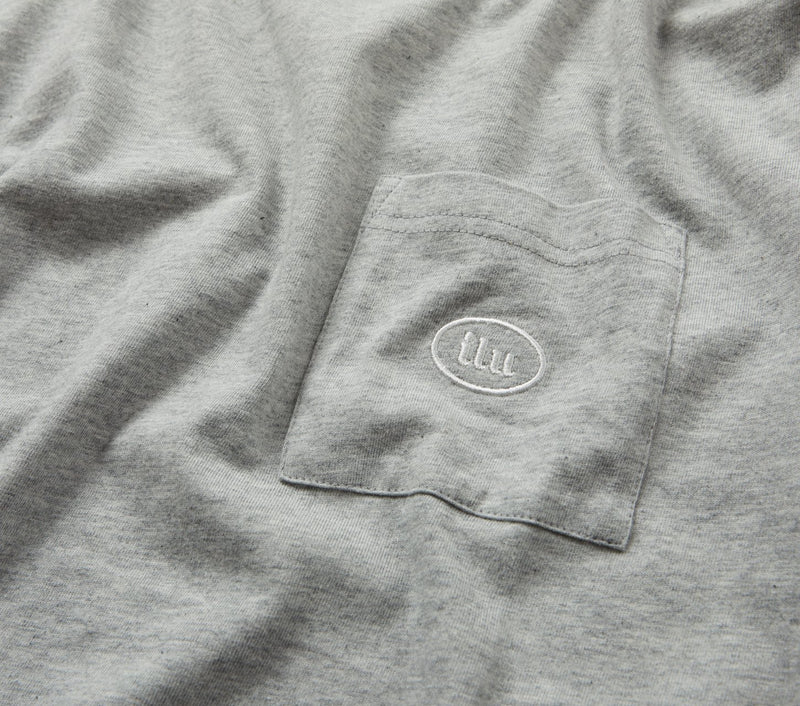 Donnie Pocket Tee - Vintage Grey