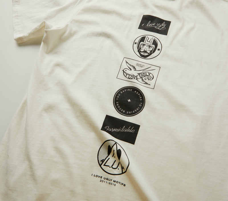 Vintage Logos Tee - Winter White