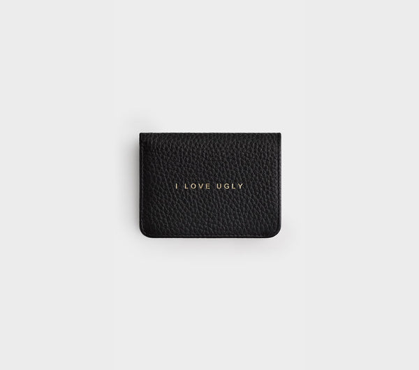 Franklin Wallet - Black Pebbled