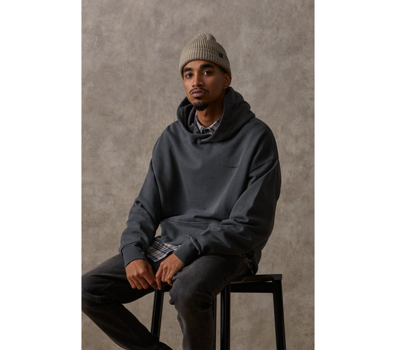 Box Fit Hood - Washed Black