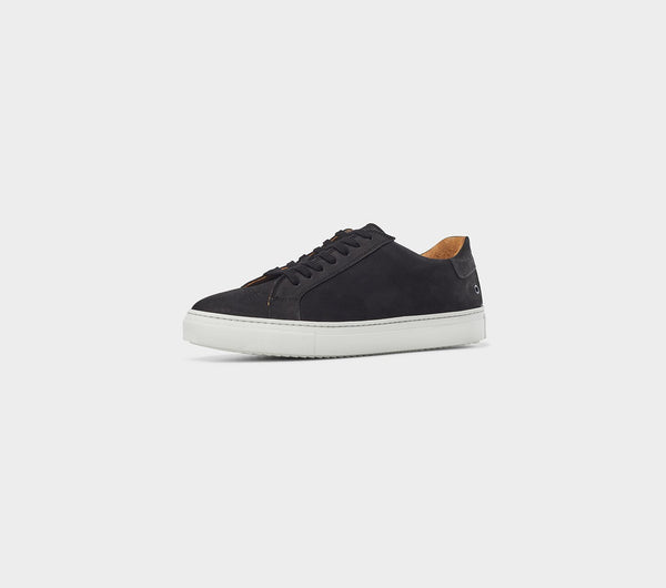 Nelson Low - Black Nubuck