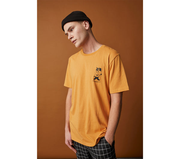 U Man Tee - Butterscotch