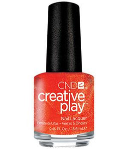 CND CREATIVE PLAY - Orange you curious - Satin Finish