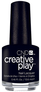 CND CREATIVE PLAY - Black and Forth - Creme Finish