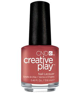 CND CREATIVE PLAY - Nuttin to wear  - Creme Finish (Discontinued)