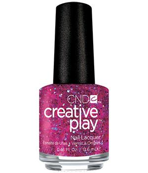 CND CREATIVE PLAY - Dazzleberry - Micro Glitter Finish