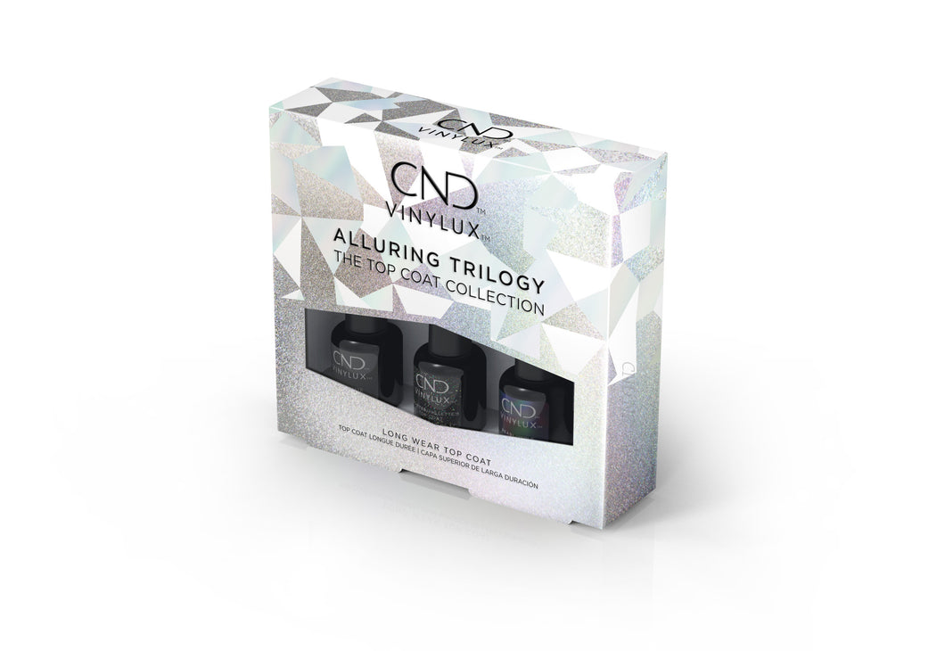 CND VINYLUX ALLURING TRILOGY COLLECTION 3.7mL (X3)