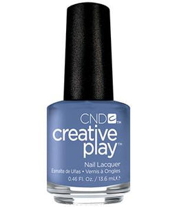 CND CREATIVE PLAY - Steel the show - Creme Finish