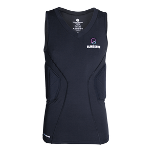 Padded compression shirt PRO