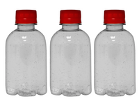 Private Label Premium Alkaline Purified Water 8.4oz (250ml) | 24 Pack Case | Clear Boston Red Cap