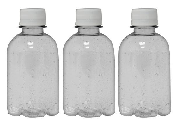 Custom Premium Sparkling Water 8.4oz (250ml) | 24 Pack Case | Clear Boston White Cap