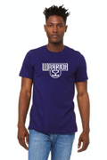 Warrior 52 Unisex Jersey Short Sleeve Tee - Navy Blue
