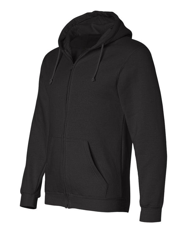 Full Zip Hoodie | Black | Made In USA