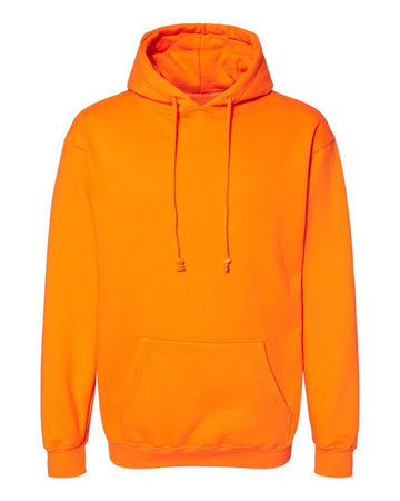 Pullover Hoodie | Bright Orange | Made In USA