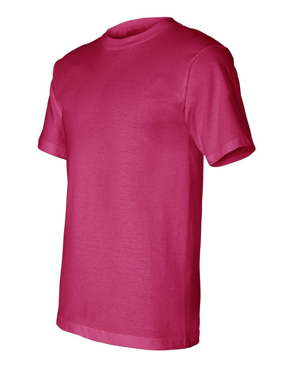 Crew Shirt Union Made | Bright Pink | Made In USA