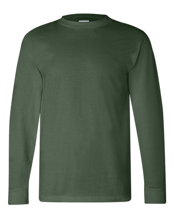 Crew Shirt Heavyweight Long Sleeve | Forest Green | Made In USA