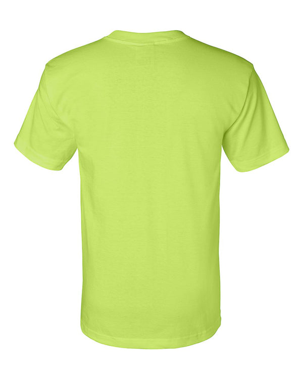 Crew Shirt Union Made | Lime Green | Made In USA