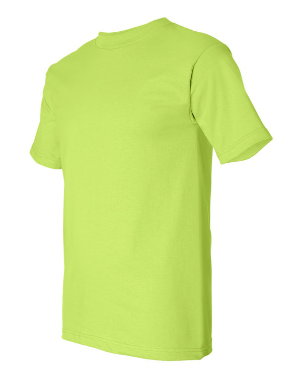 Crew Shirt Heavyweight | Lime Green | Made In USA