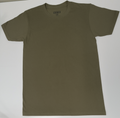 UNISEX FINE JERSEY CREW-Military Green