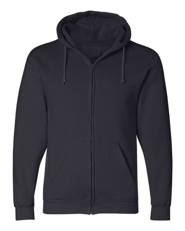 Full Zip Hoodie | Navy | Made In USA