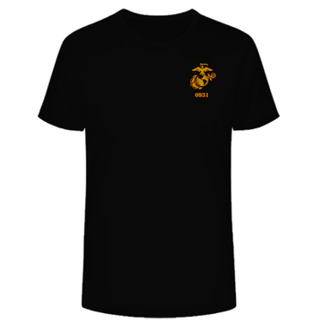 0931 Combat Marksmanship Trainer Course 2021 - Basic Tee Black
