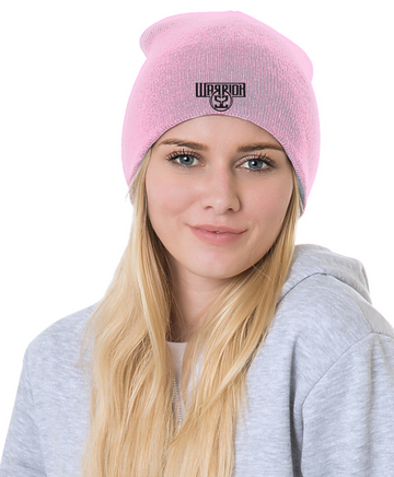 WARRIOR 52 MADE IN USA UNISEX BEANIE-BRIGHT PINK