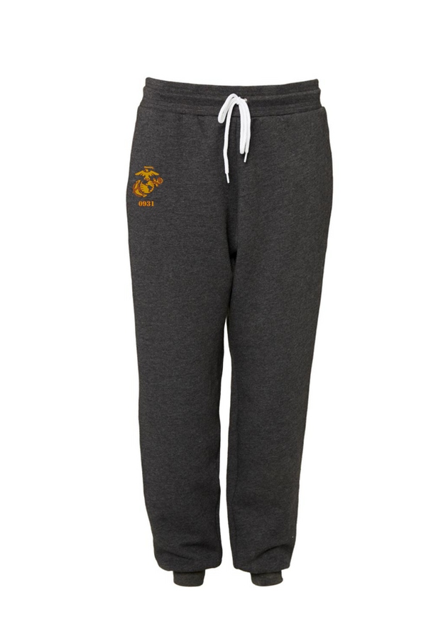 0931 Combat Marksmanship Trainer Course 2021 -UNISEX JOGGER SWEAT PANT-DARK GREY HEATHER