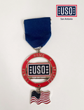 USO SAN ANTONIO LIMITED EDITION SERIES MEDAL