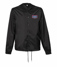 USO SAN ANTONIO HOODED COACH'S JACKET