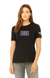 USO HOUSTON Relaxed Jersey Short Sleeve Tee - Solid Black Triblend