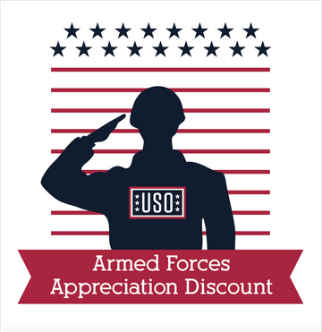 USO Appreciation Window Cling