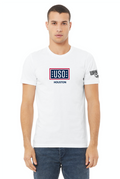 USO Houston Unisex Jersey Short Sleeve Tee - White