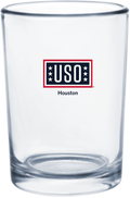 USO Houston Classic Collection Beverage Glass 255ml / 8.5 oz (Pallet of 2600 pieces)