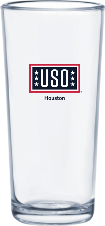 USO Houston Classic Collection Beverage Glass 340ml / 11.5 oz (Pallet of 1728 pieces)
