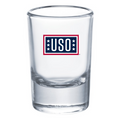 USO Shot Glass 60 ml / 2 oz (Pallet of 6000 Pieces)