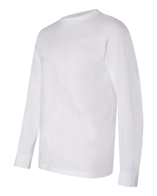 Crew Shirt Heavyweight Long Sleeve | White | Made In USA