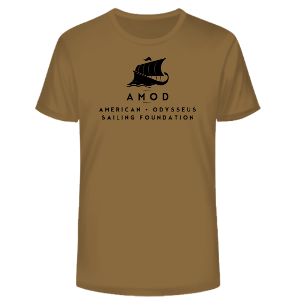 AMOD Foundation Coyote Brown Logo 3