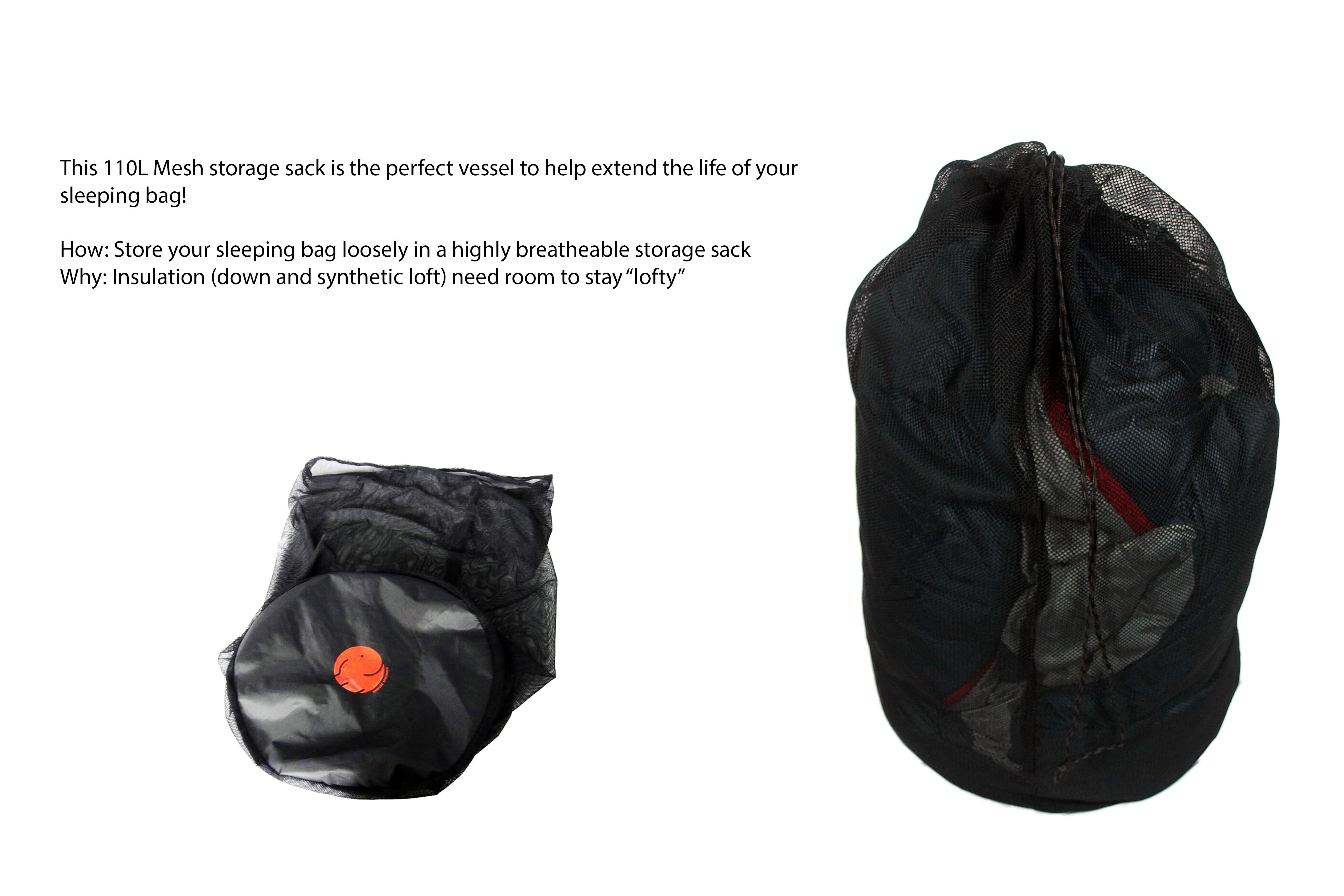the best attitude c0ba7 f9cce Mesh/Polyester Extra Large 110L Stuff Sack – OmniCoreDesigns