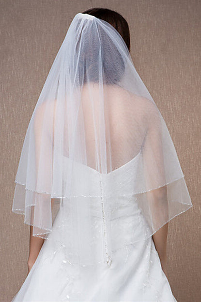 Ivory Bridal Veil with Comb