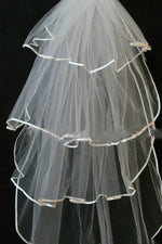 Four-layered Ivory Bridal Veil