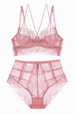 Sexy Pink Lingerie Set