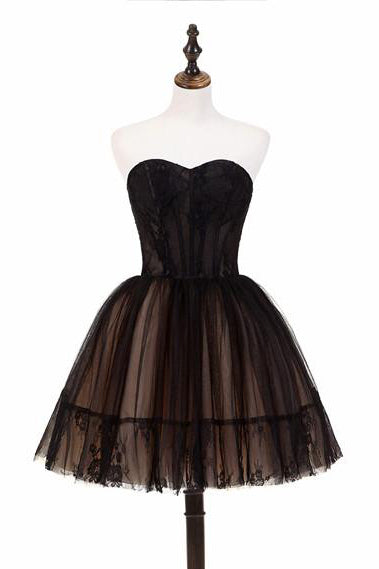 Little Black Dress Black Short Homecoming Dress