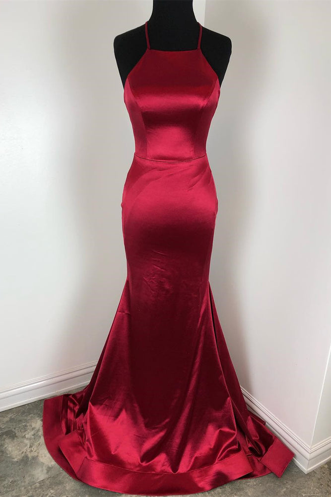 Classic Mermaid Red Formal Dress