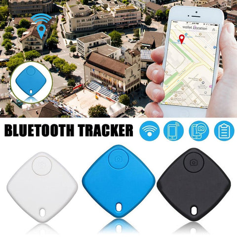 Image of Bluetooth Tracker Smart Finder Anti Lost Alarm Key GPS Locator Finder for Various Phone