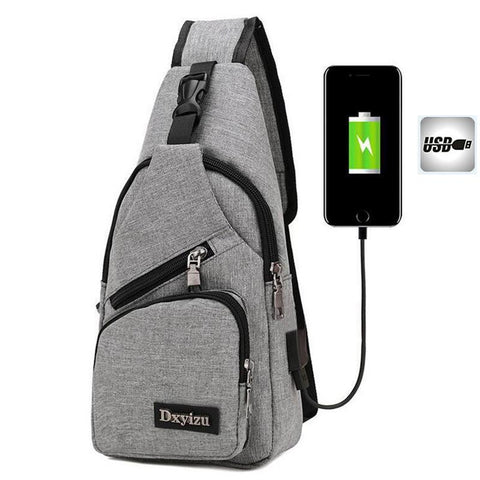 Sling Bag Shoulder Bag Single Shoulder Strap Backpack Travel Backpack