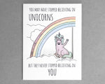 unicorn everyday card