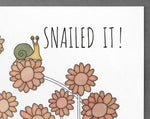 snail art print [snailed it]