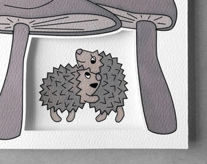 hedgehog everyday card