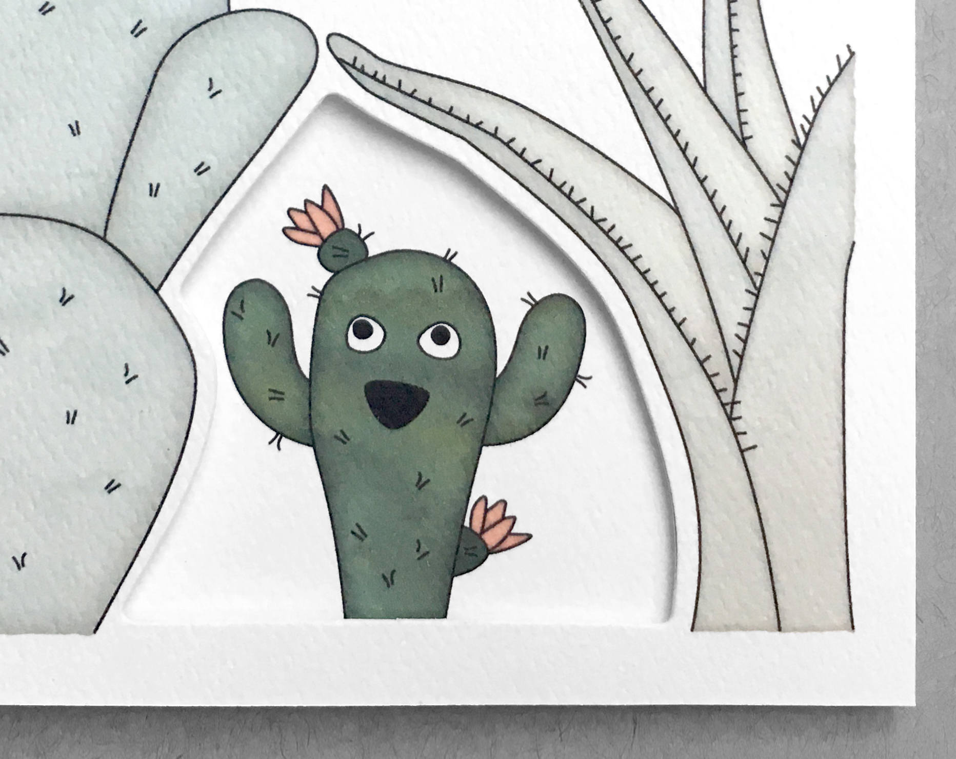 cactus everyday card